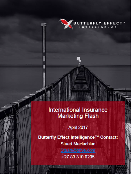 Butterfly Effect Intellignece article - Interesting Insurance Initiatives from around the Globe – April 2017
