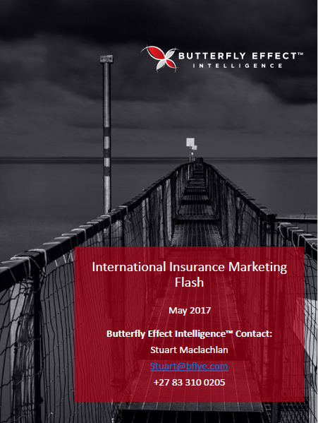 Butterfly Effect Intellignece article - Interesting Insurance Initiatives from around the Globe – May 2017