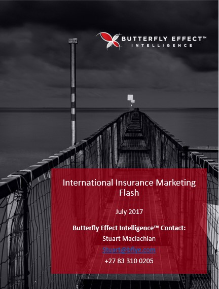 Butterfly Effect Intellignece article - Interesting Insurance Initiatives from around the Globe – July 2017