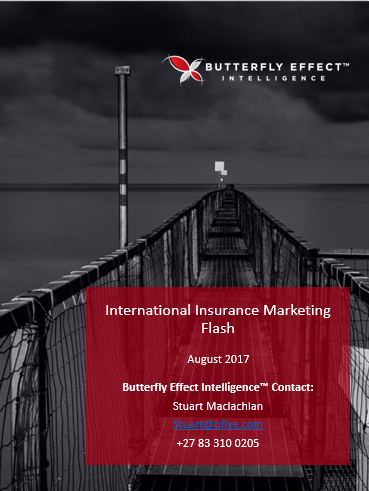 Butterfly Effect Intellignece article - Interesting Insurance Initiatives from around the Globe – August 2017