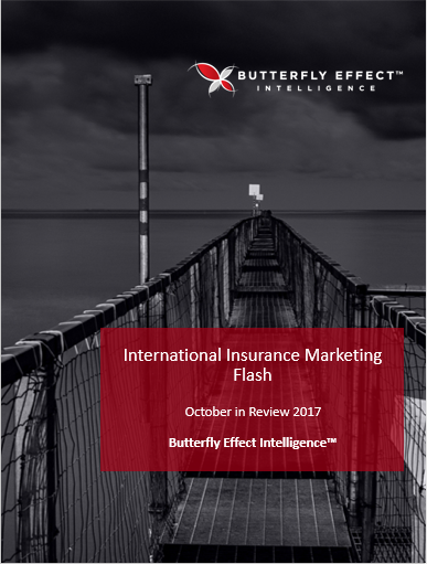 Butterfly Effect Intellignece article - Interesting Insurance Initiatives from around the Globe – October 2017