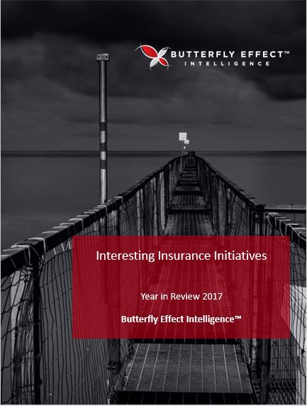 Butterfly Effect Intellignece article - Interesting Insurance Initiatives from around the Globe – Review of 2017